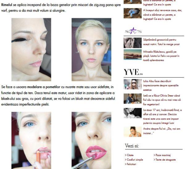 tutorial makeup cu roxana dumitru